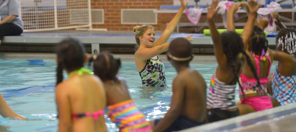 Aquatics Swim Lessons Slider